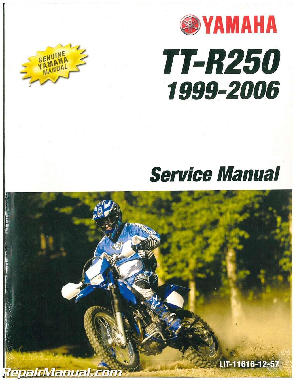 1999 2006 Yamaha Ttr250 Motorcycle Service Manual border=