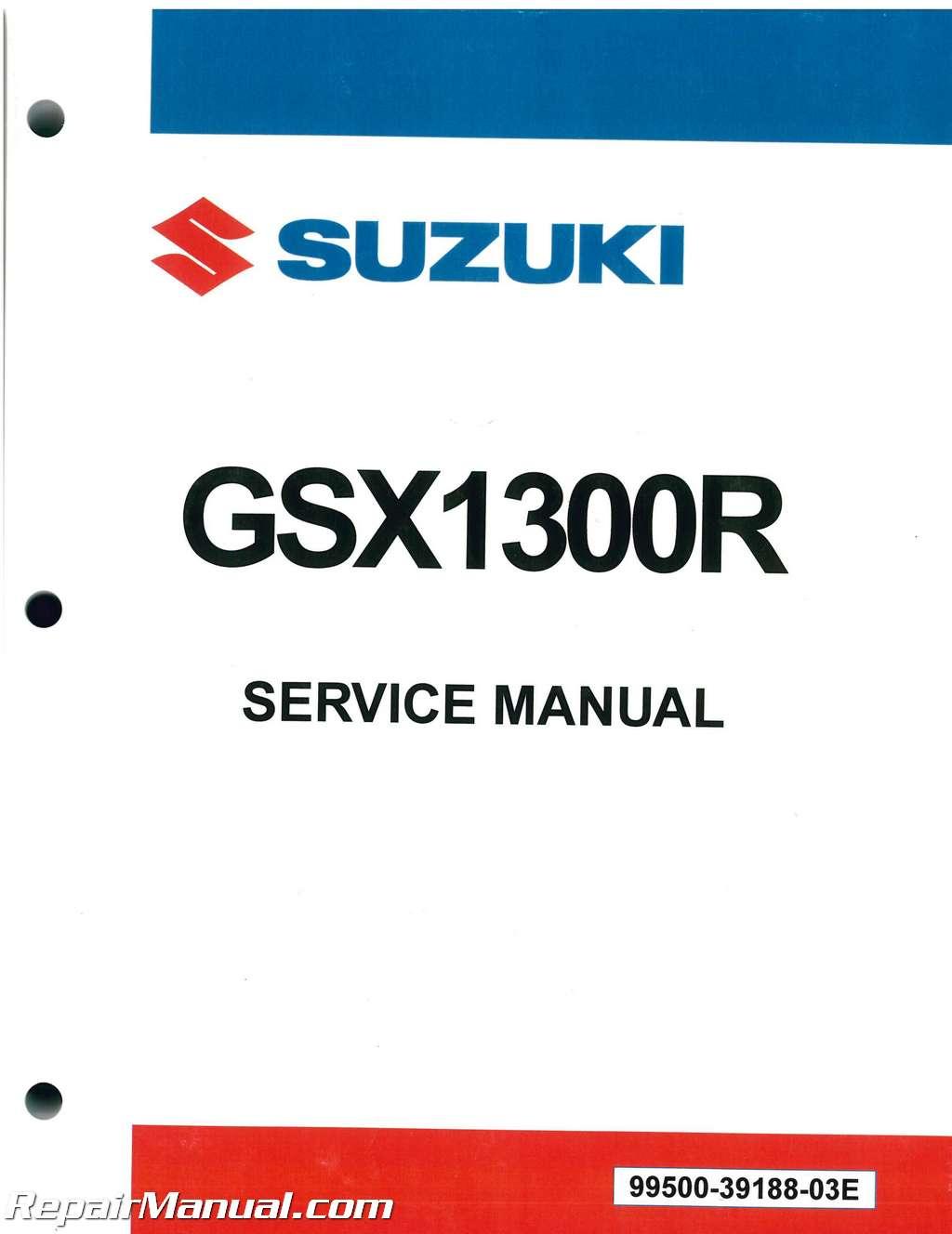 1999 2007 suzuki gsxr1300 hayabusa motorcycle service manual rh repairmanual com suzuki swift 2007 service manual 2007 suzuki sx4 service manual pdf