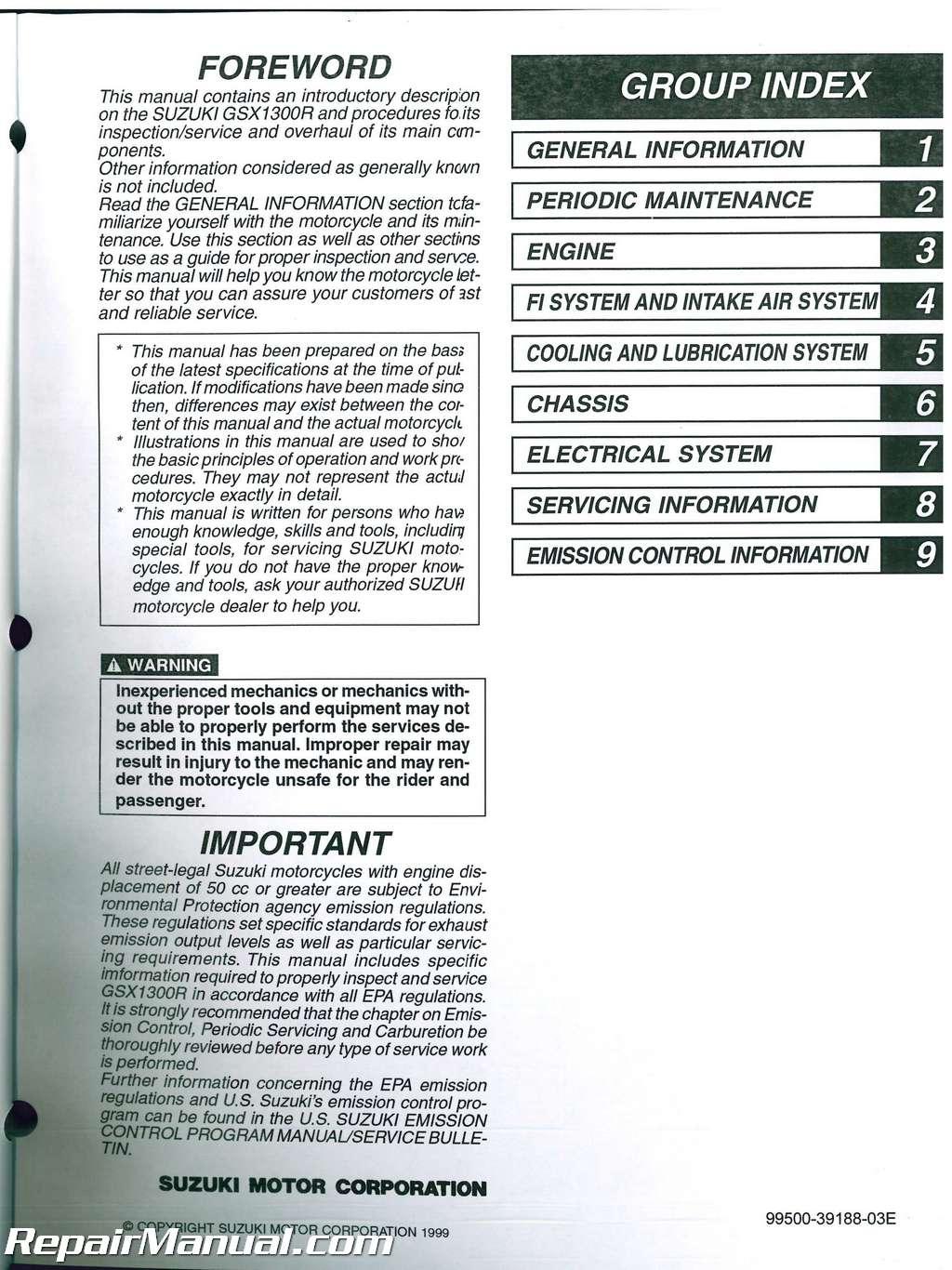 hayabusa service manual rh hayabusa service manual tempower us