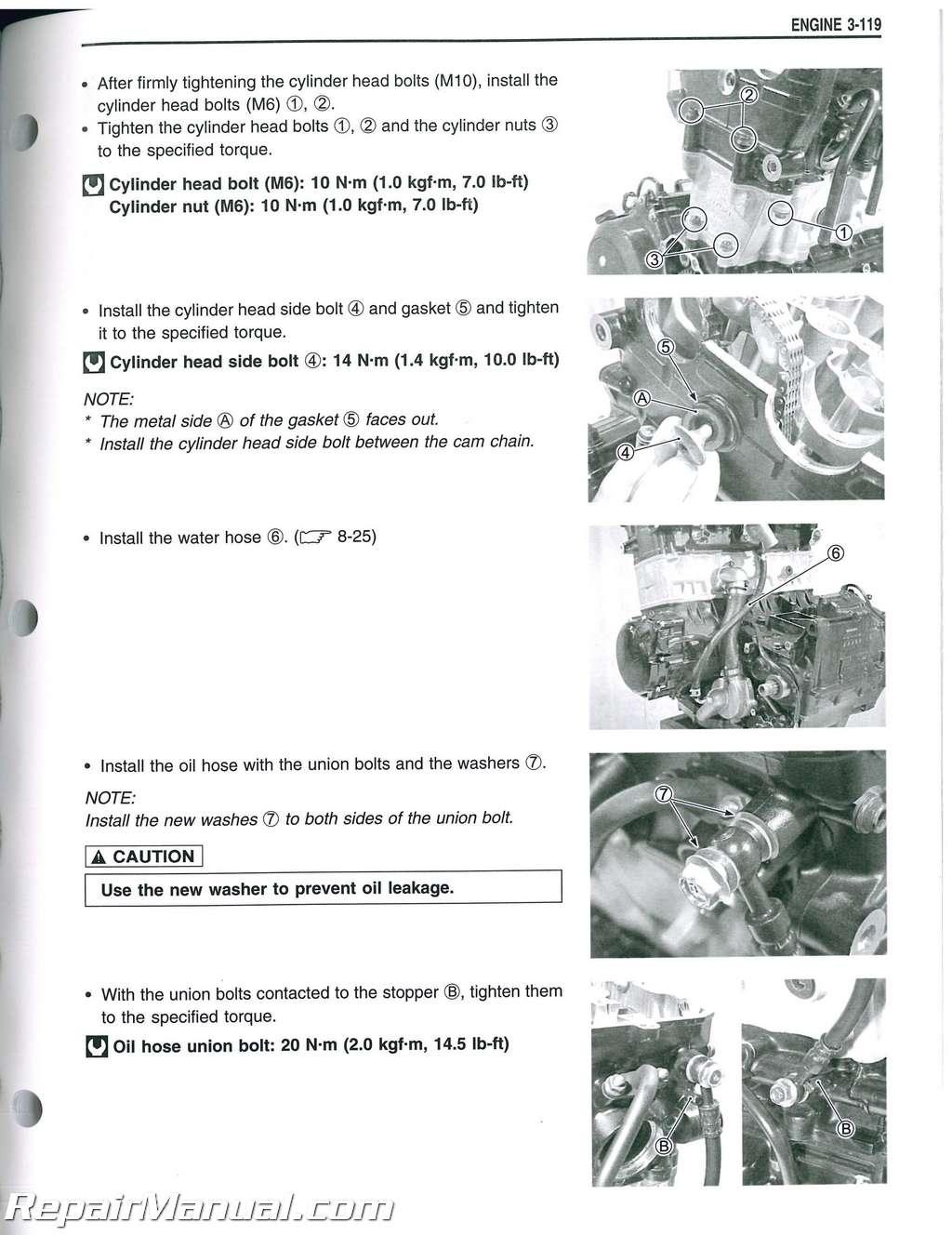 1999 2007 suzuki gsxr1300 hayabusa motorcycle service manual rh repairmanual com 2016 Hayabusa 2007 suzuki hayabusa service manual pdf