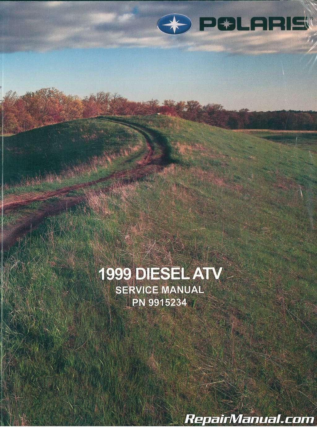 1999 polaris 455 4 4 diesel atv service manual rh repairmanual com 1999 500 Polaris 4x4 Diesel 1999 500 Polaris 4x4 Diesel