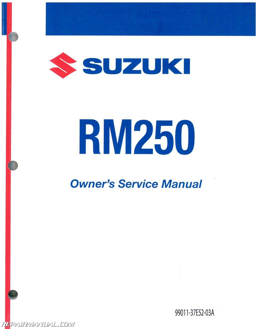 1995 Suzuki Rm 250 Wiring Diagram Page 2 And Vz800 Gt250 1983 1993