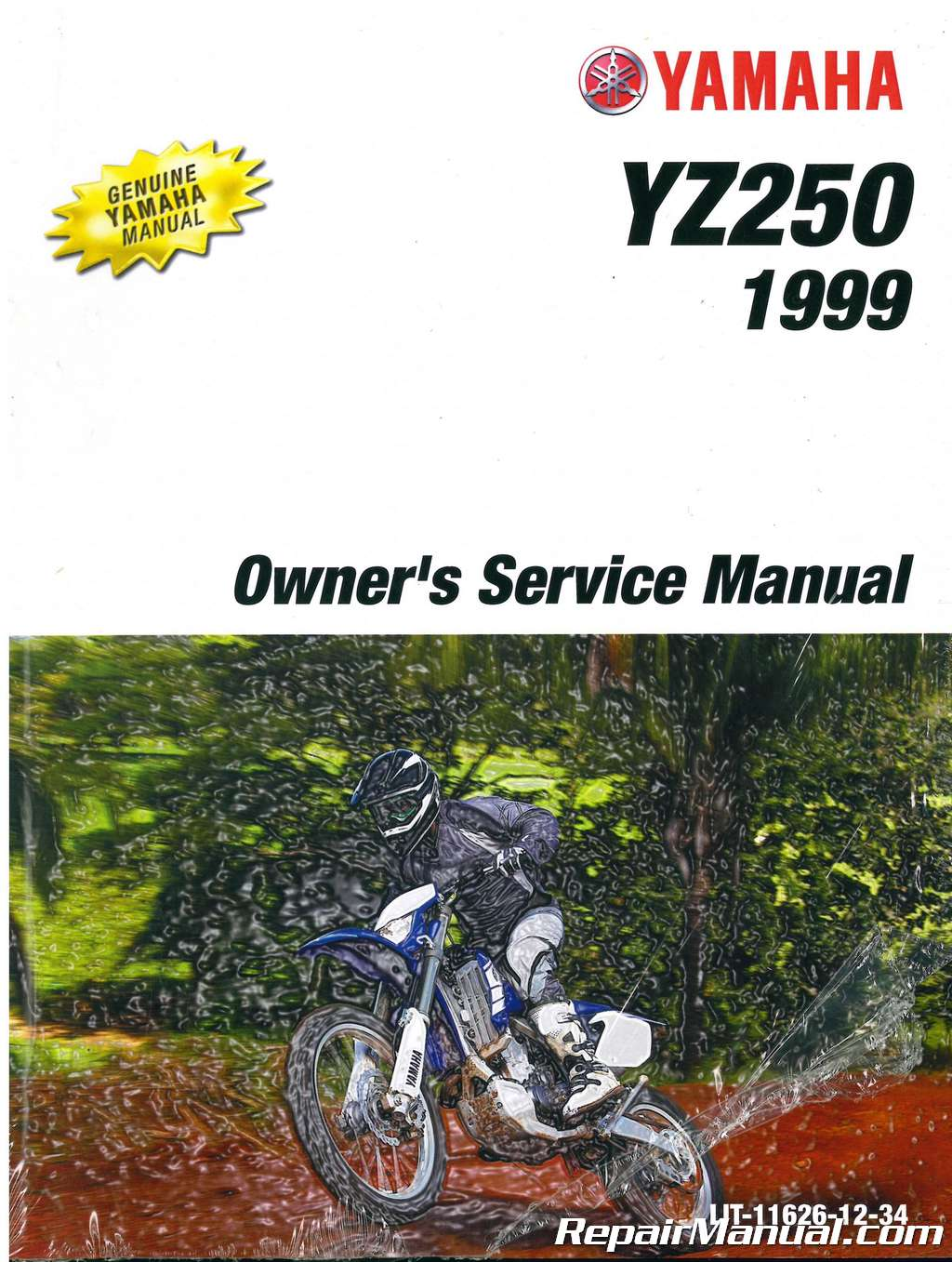 1999 Yamaha Yz250 Motorcycle Owners Service Manual