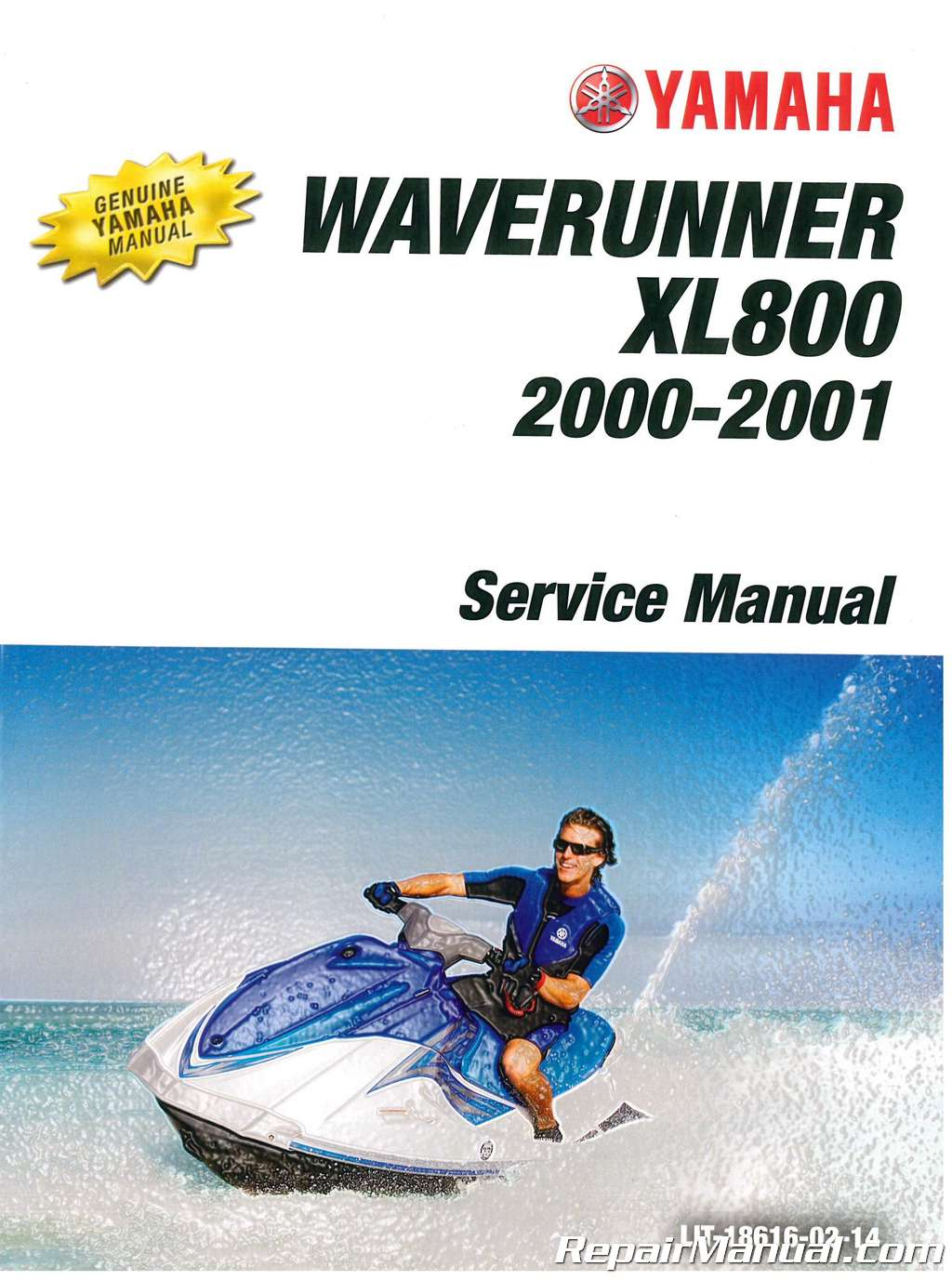 Honda Vin Decoder >> 2000-2001 Yamaha XL800 Waverunner Service Manual