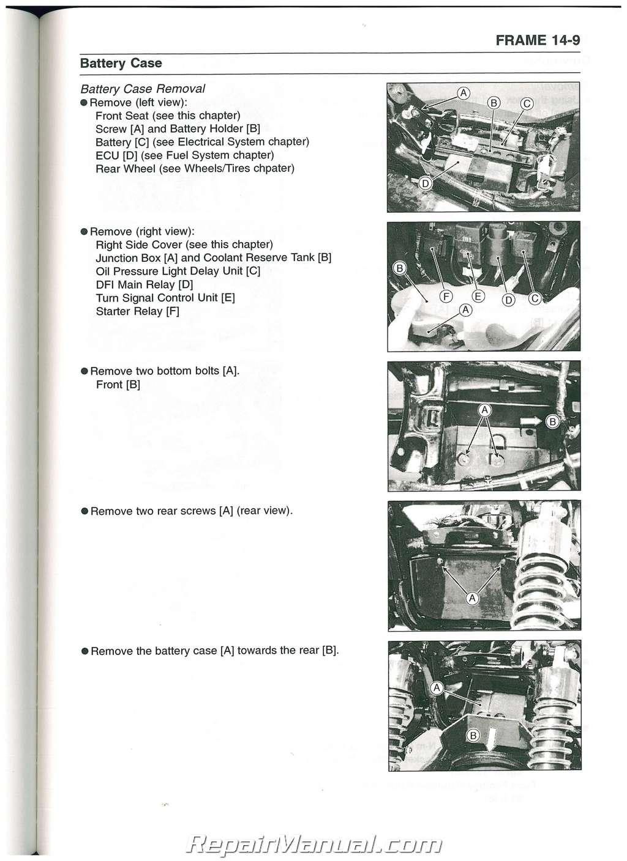 kawasaki vulcan 1500 classic service manual