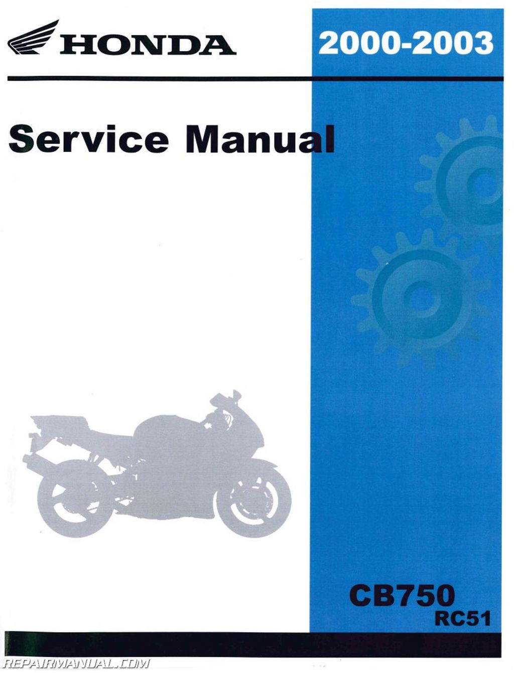 Wrg 2586 Honda Cb 750 Sc Nighthawk 1984 Service Manual 2019 Ebook Rc51 Wiring Diagram 2000 2003 Cb750 Motorcycle Rh Repairmanual Com