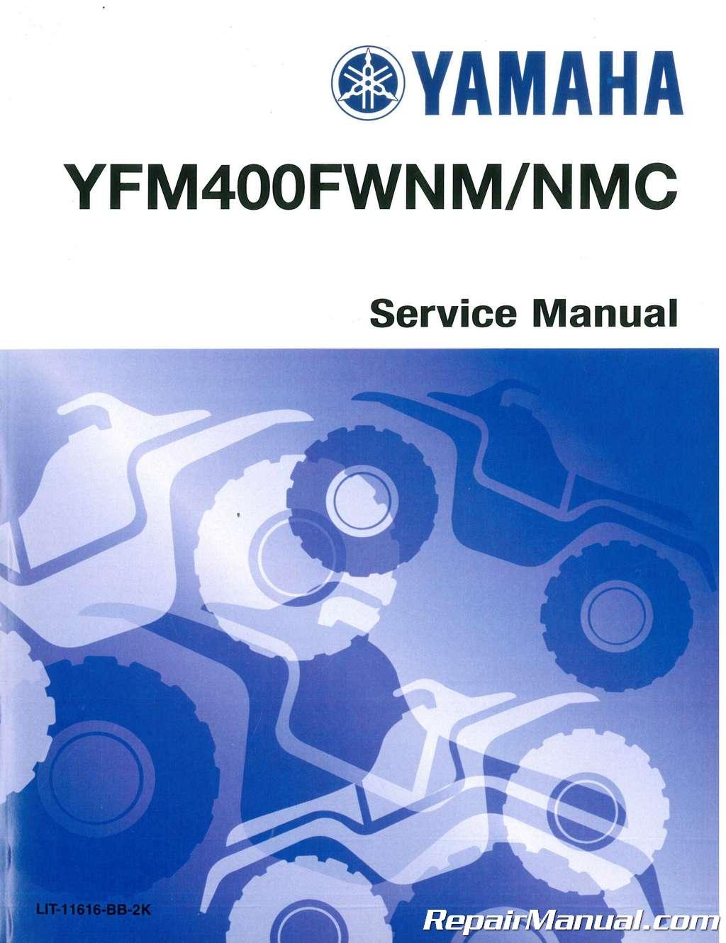 2000-2003-Yamaha-YFM400NM-NMC-Big-Bear-ATV- ...