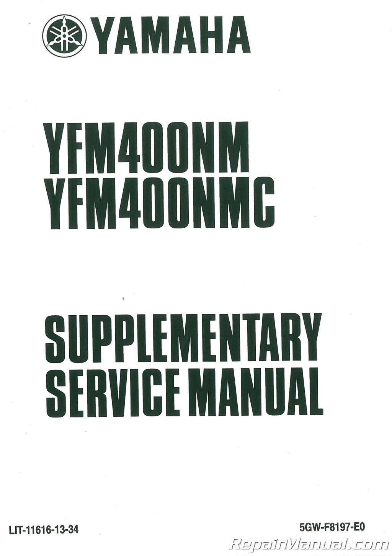 ... 2000-2003-Yamaha-YFM400NM-NMC-Big-Bear-ATV- ...