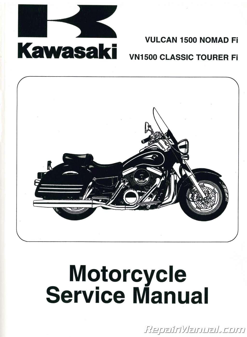Kawasaki z1100 manual on