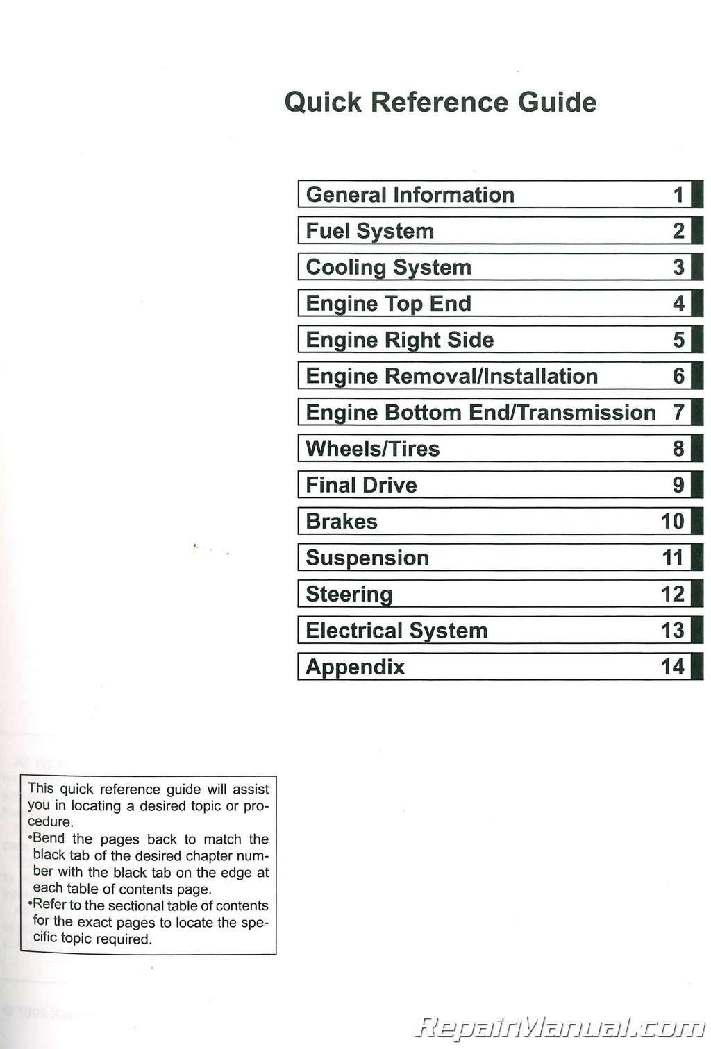 kx65 repair manual Array - 2000 2013 kawasaki kx65 service manual 99924  1252 14 ebay rh ebay com