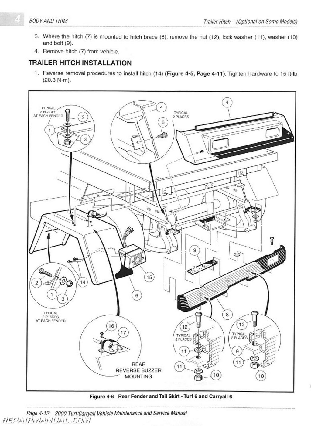 manual repair manual electrical wiring diagrams body