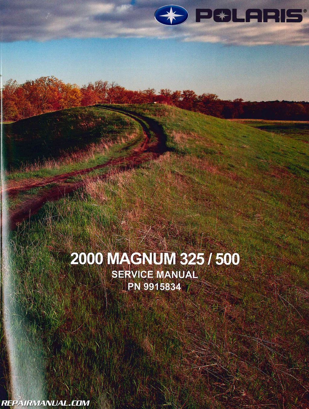 2000 Polaris Magnum 325 500 Atv Service Manual   9915834