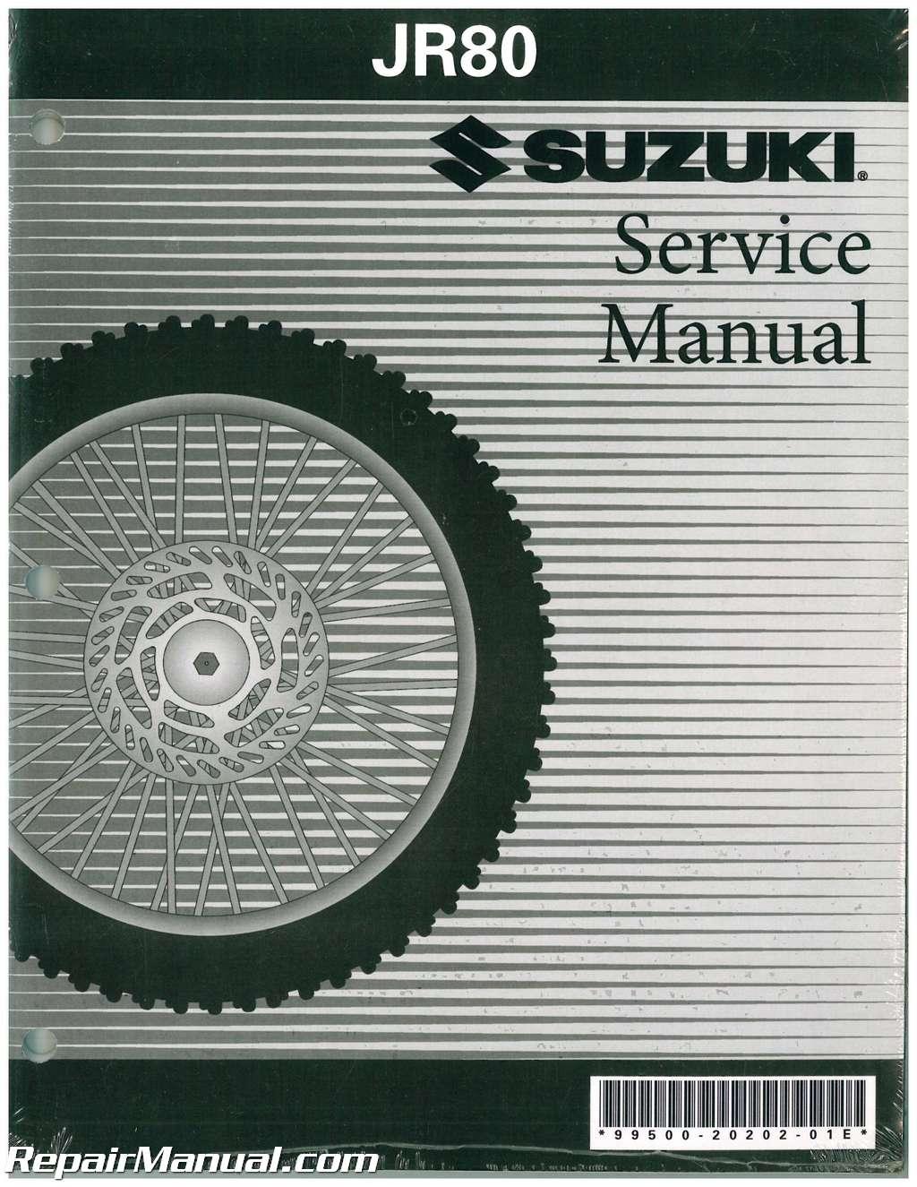 Suzuki Jr Service Manual