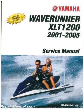 2001 2005 Yamaha XLT1200 Waverunner Service Manual