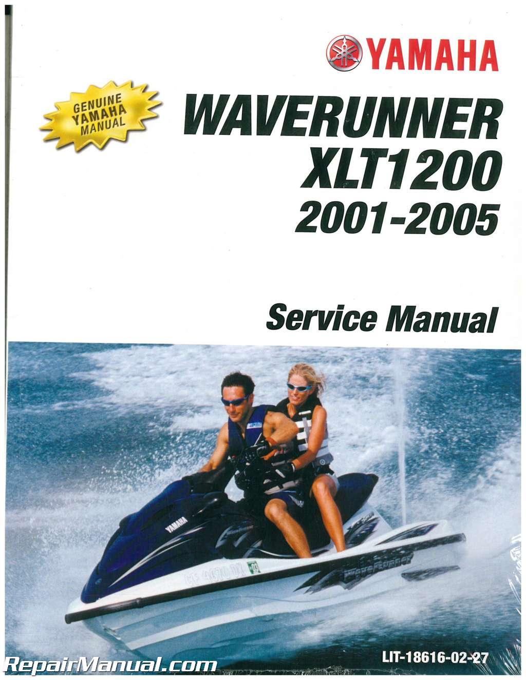 2001 2005 yamaha xlt1200 waverunner service manual rh repairmanual com 2002 Yamaha XLT 1200 Specs 2001 Yamaha Jet Ski