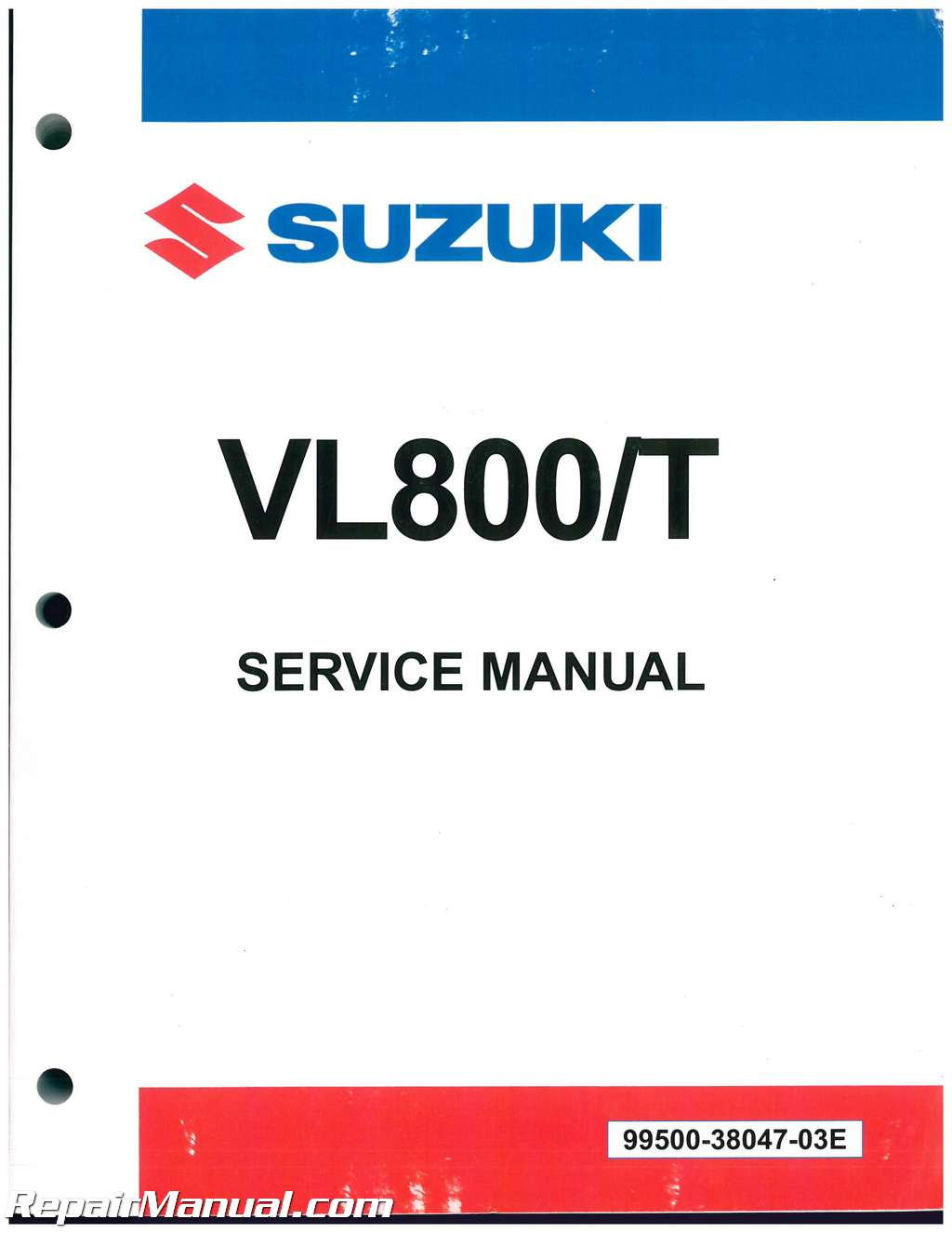 2001-2018 Suzuki VL800 Volusia Boulevard C50 C50T Motorcycle Service Manual