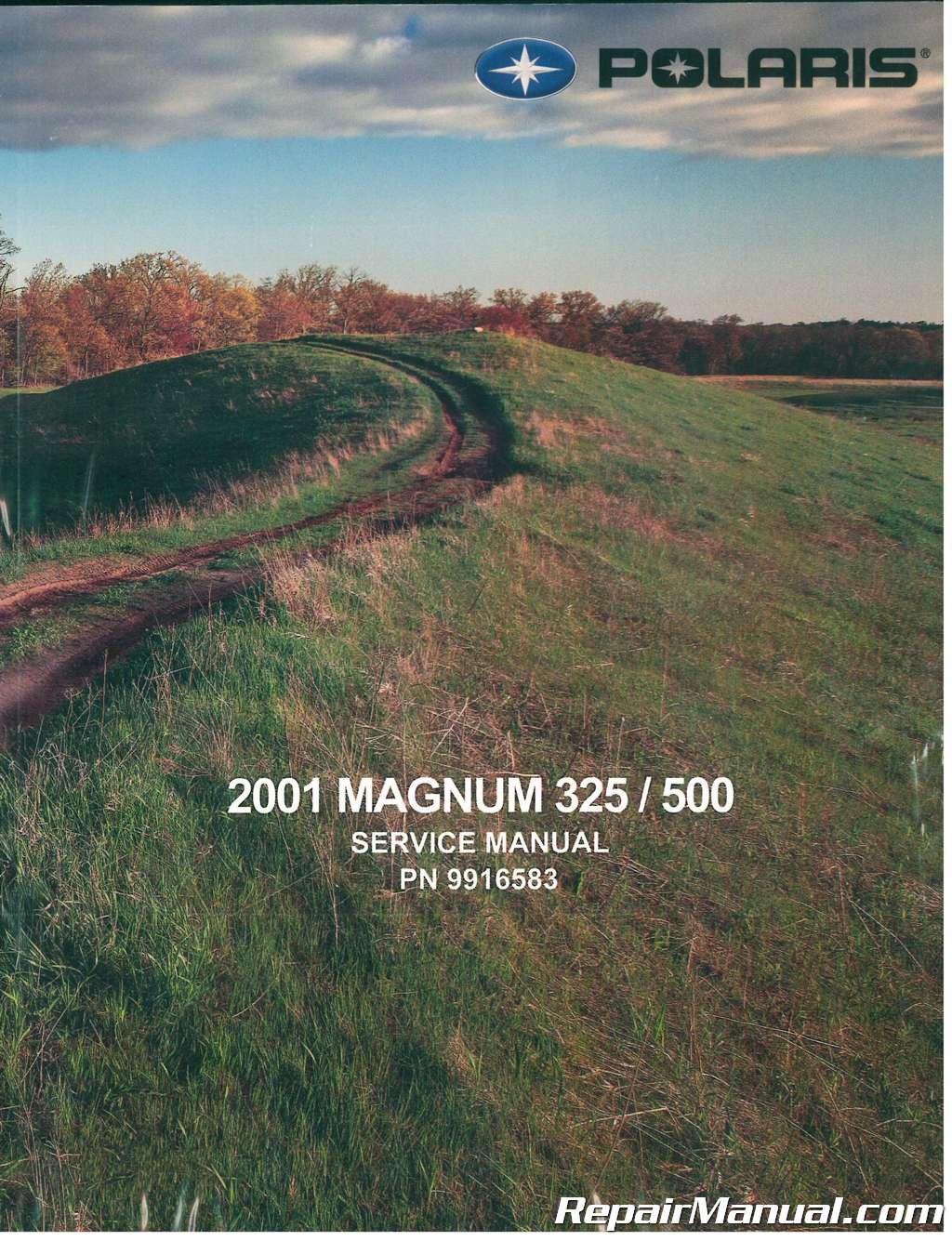 2001 Polaris Magnum 325 500 Atv Service Manual Sportsman Awd Wiring Diagram