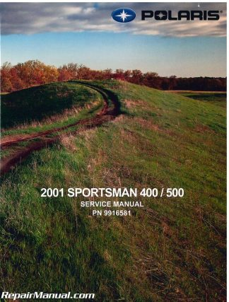 Polaris Sportsman Duse And Ho Atv Repair Manual X