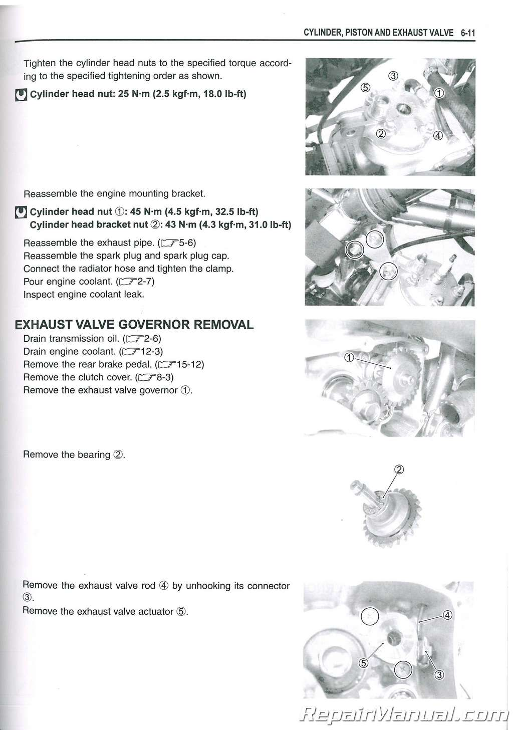 Free service manual suzuki Motorcycle