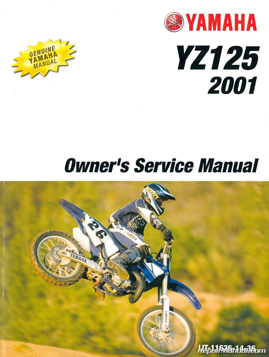 2001-Yamaha-YZ125-Owners-Service-Manual.jpg ...