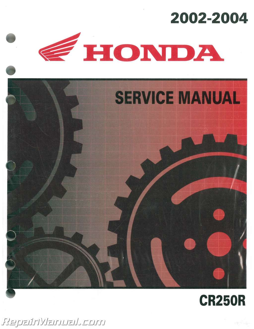 2002 2004 honda cr250r two stroke motorcycle service manual rh repairmanual com honda cr250 workshop manual honda cr250 repair manual pdf