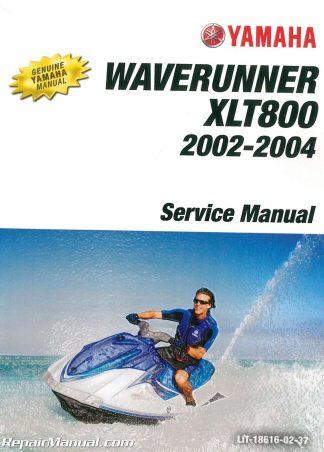 2002 2004 Yamaha XLT800 Waverunner Watercraft Workshop Service Manual