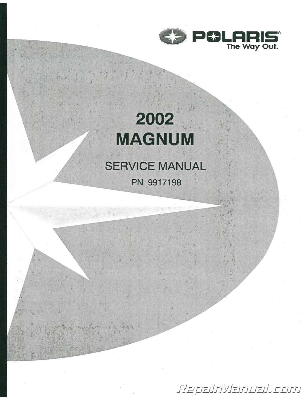 2002 Polaris MAGNUM 325 500 ATV Service Manual
