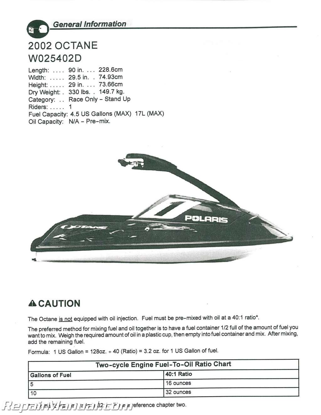 click to expand Array - 2002 polaris octane and 2003 polaris octane update  packet service manual rh repairmanual com Array - kawasaki jet ski ...