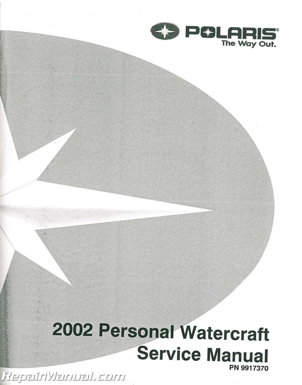 2002 Polaris Personal Watercraft Service Manual border=