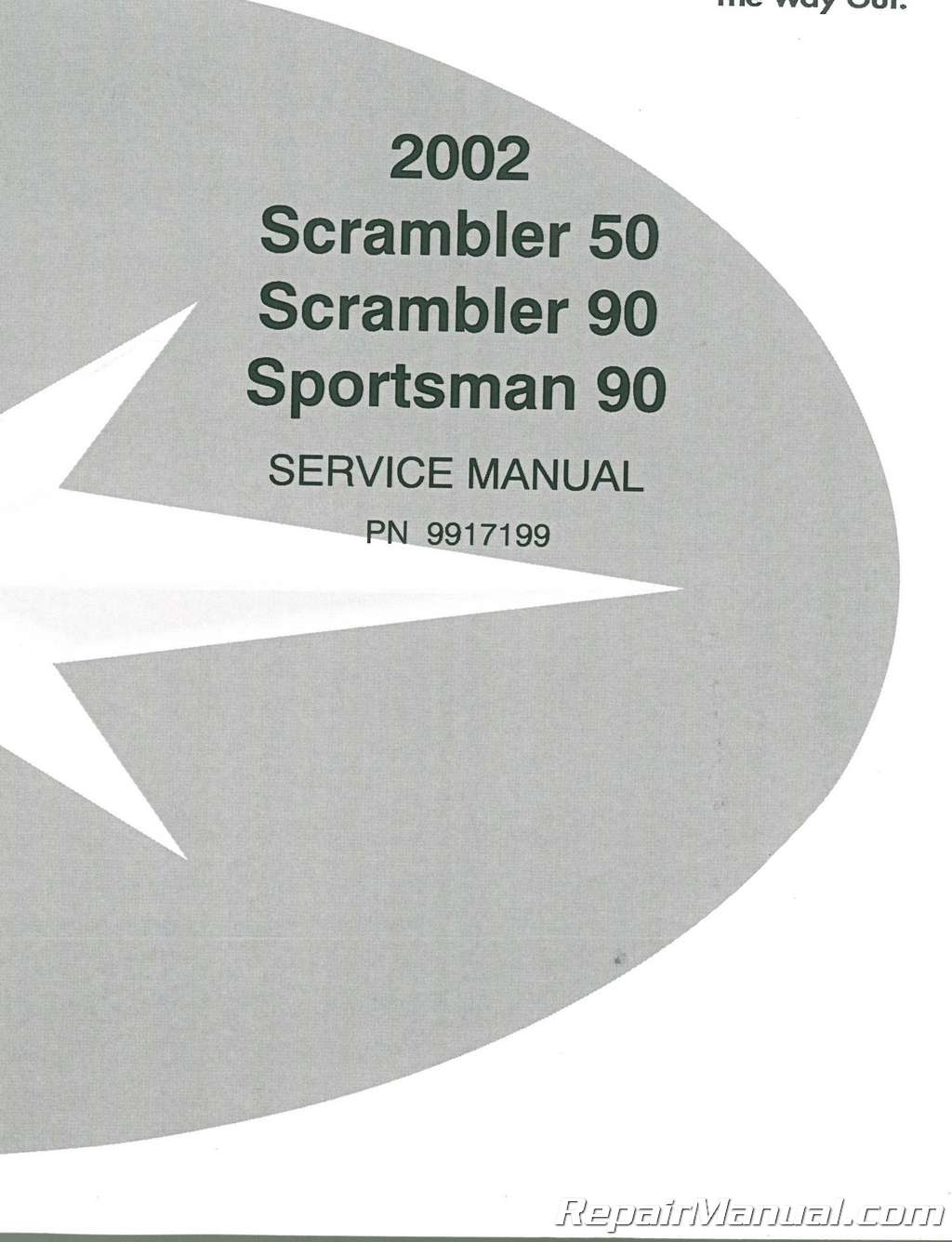 2002 Polaris Scrambler 50 90 Sportsman 90 Service Manual