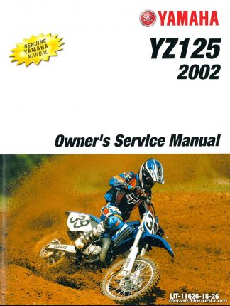 2002 Yamaha YZ250 Motorcycle Owners Service Manual