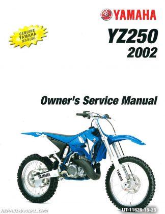 2002 yamaha yz250 service manual rh e1 satori msk ru