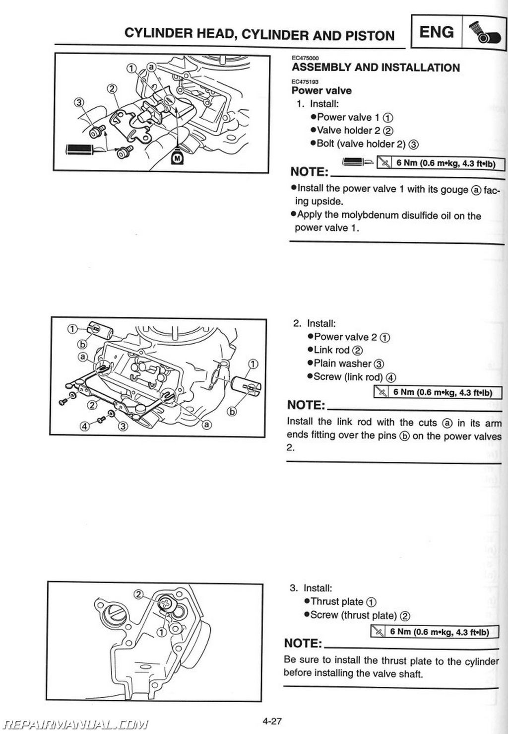 2002 yamaha yz250 motorcycle owners service manual : lit ... yz250 wiring diagram #15