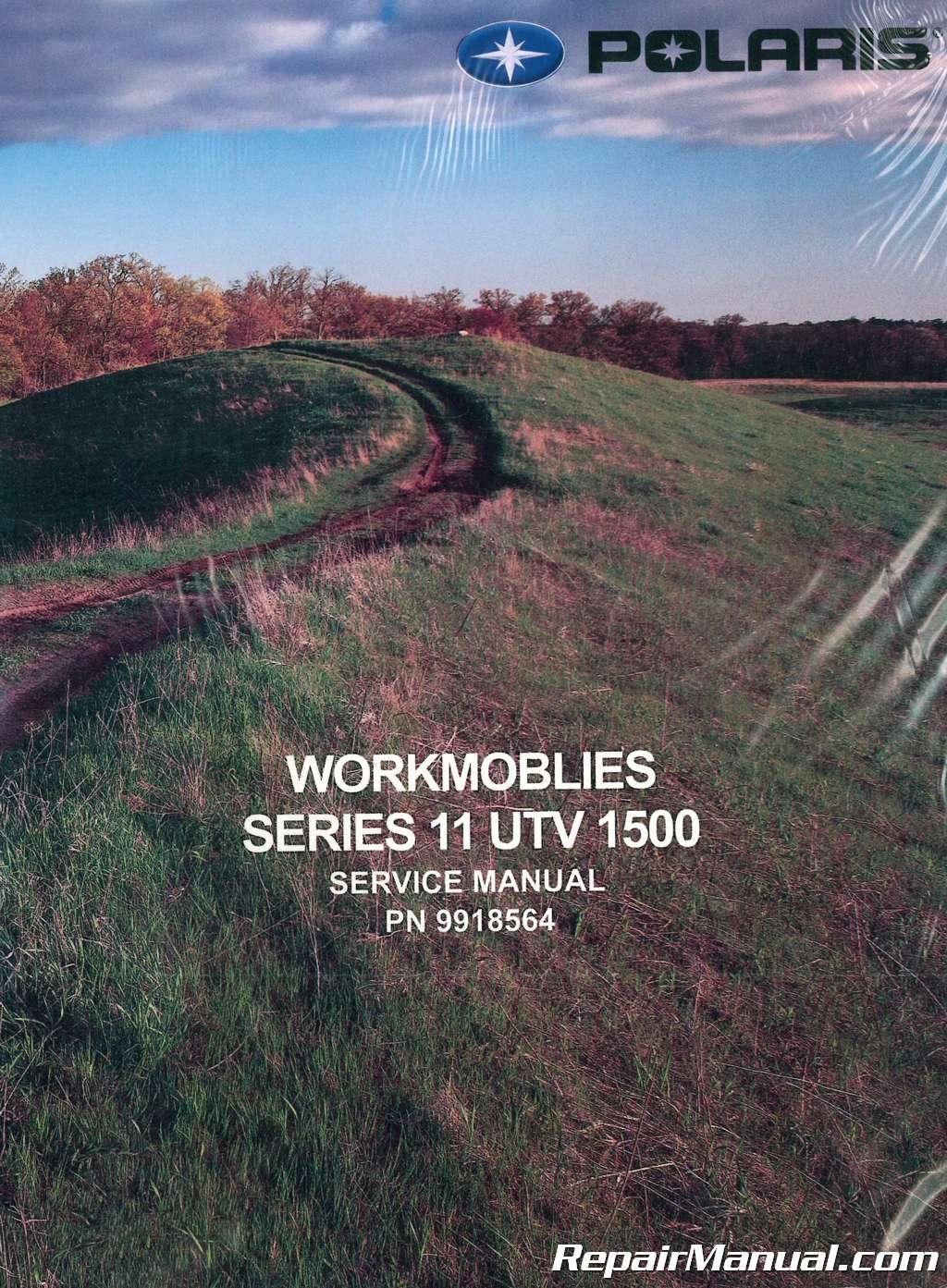 Honda Owners Manual >> 2003-2004 Polaris UTV 1500 2×4 Series 11 Service Manual