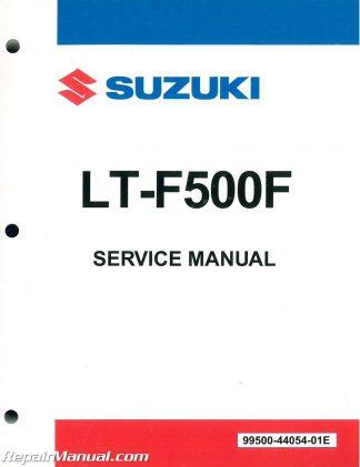 2001 2005 suzuki gsf1200s bandit service manual rh repairmanual com Suzuki Vinson 500 4x4 Repair Manual Online 2006 Suzuki Vinson Owner's Manual