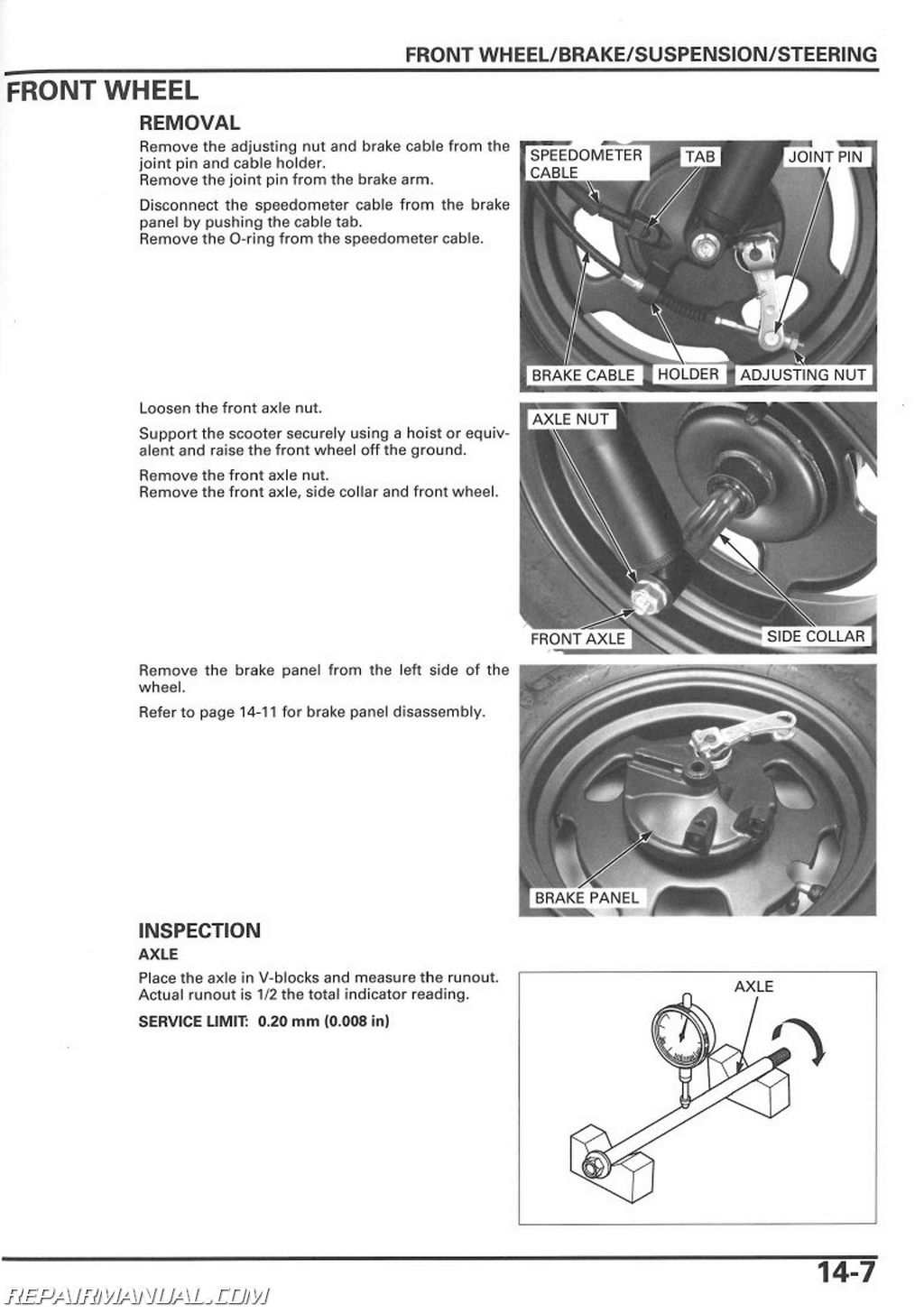 bdx honda ruckus wiring diagram 2003-2015 honda nps50 ruckus scooter service manual by ... honda ruckus wiring diagram pdf