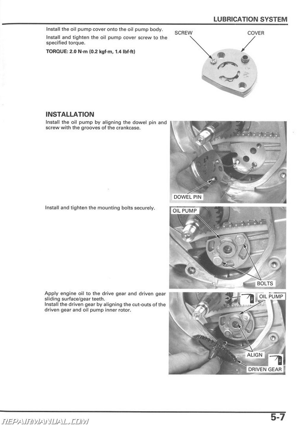 96095 2004 Honda Ruckus Owners Manual on Honda Motorcycle Repair Guide