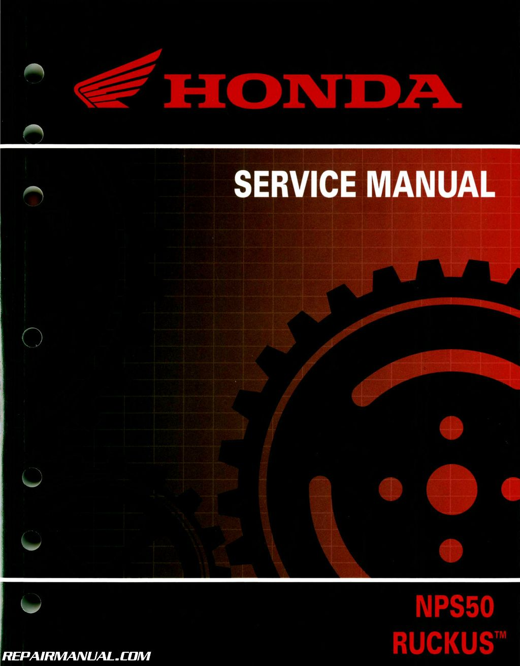 2003 2016 Honda Nps50 Ruckus Scooter Service Manual