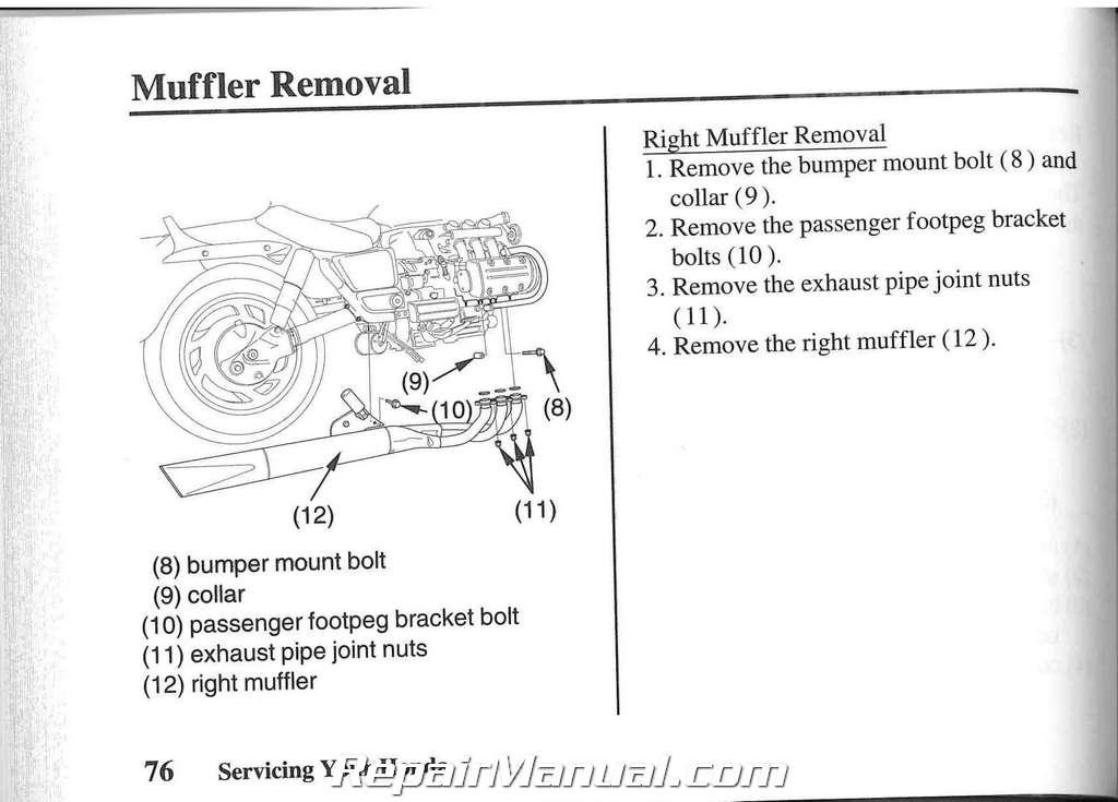 2003 honda gl1500 valkyrie motorcycle owners manual rh repairmanual com honda valkyrie service manual pdf 2015 honda valkyrie owners manual