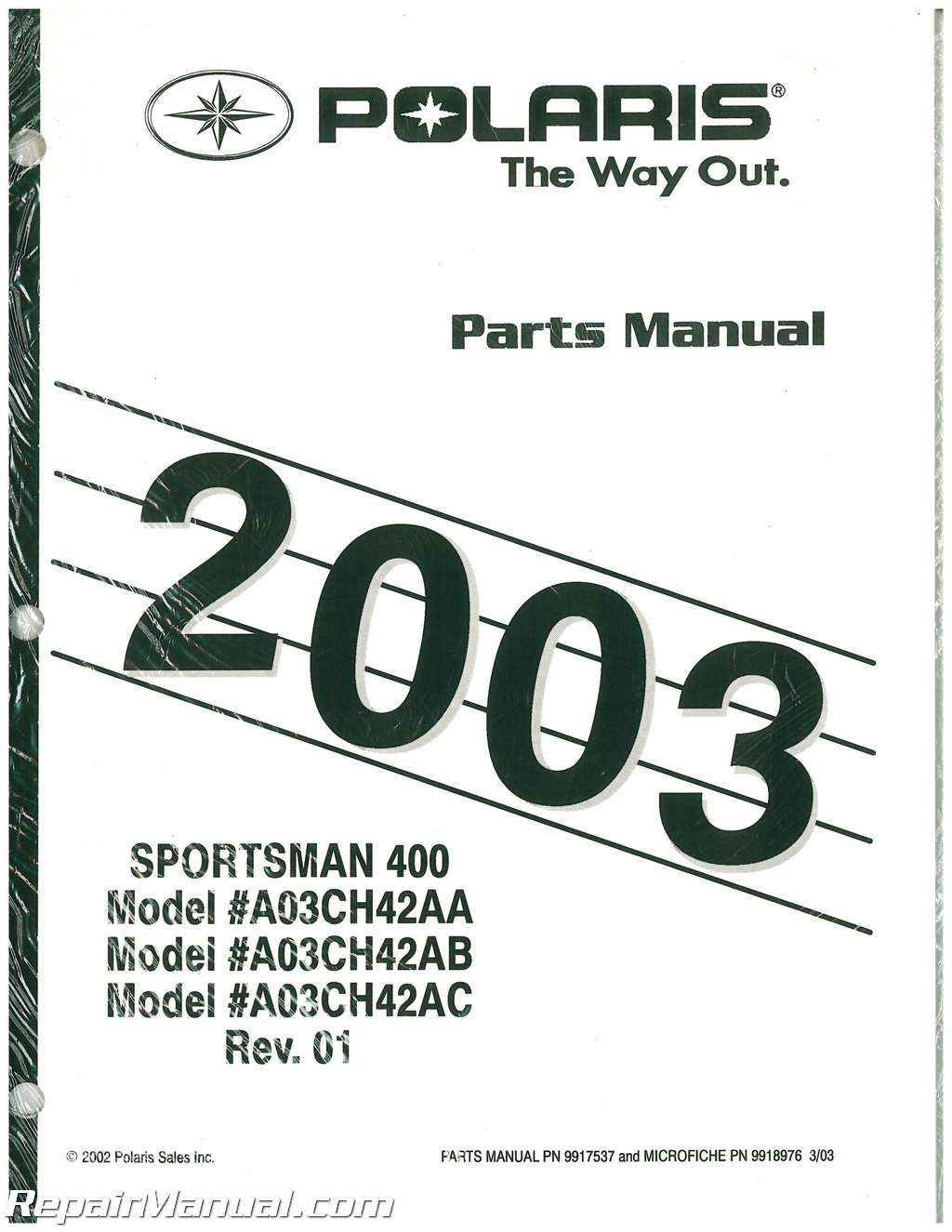 2000 polaris scrambler 400 4×4 atv parts manual.