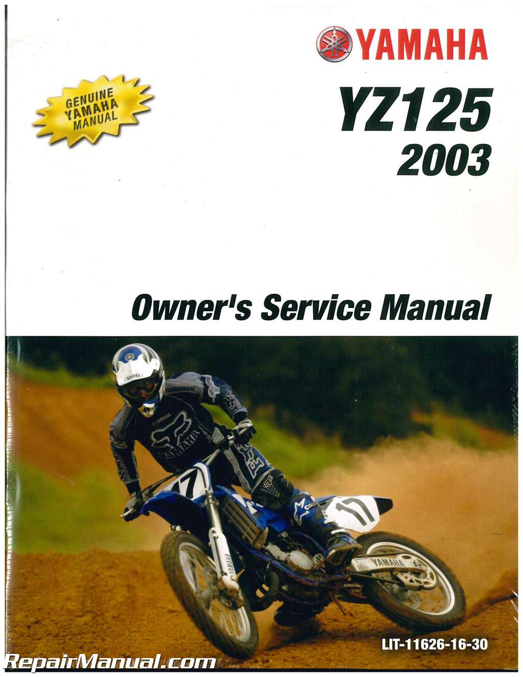 2003 yamaha yz125r service manual. Black Bedroom Furniture Sets. Home Design Ideas