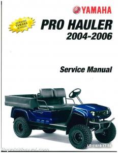 2004 2005 2006 yamaha yxp1000 yxp700 pro hauler service manual. Black Bedroom Furniture Sets. Home Design Ideas