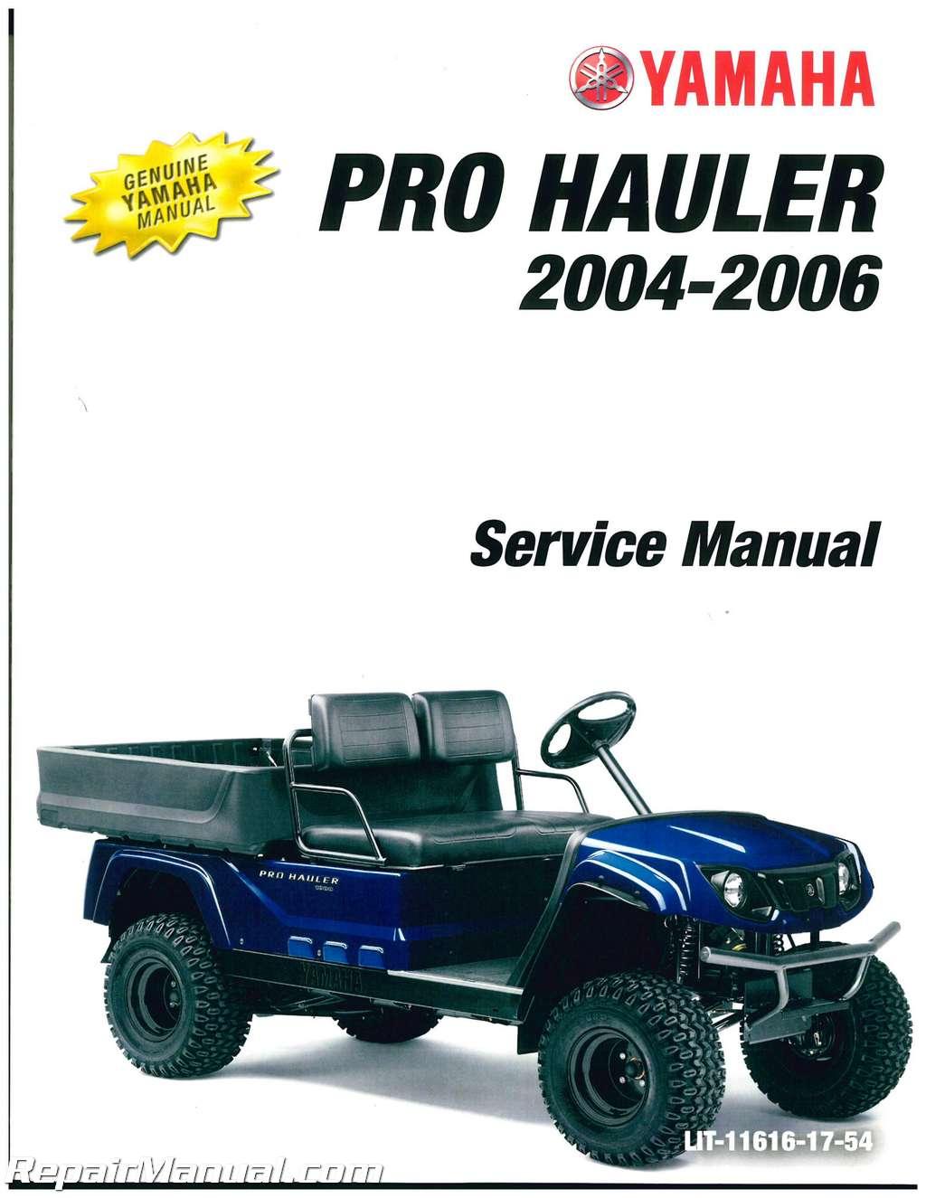 Yamaha Pro Hauler For Sale