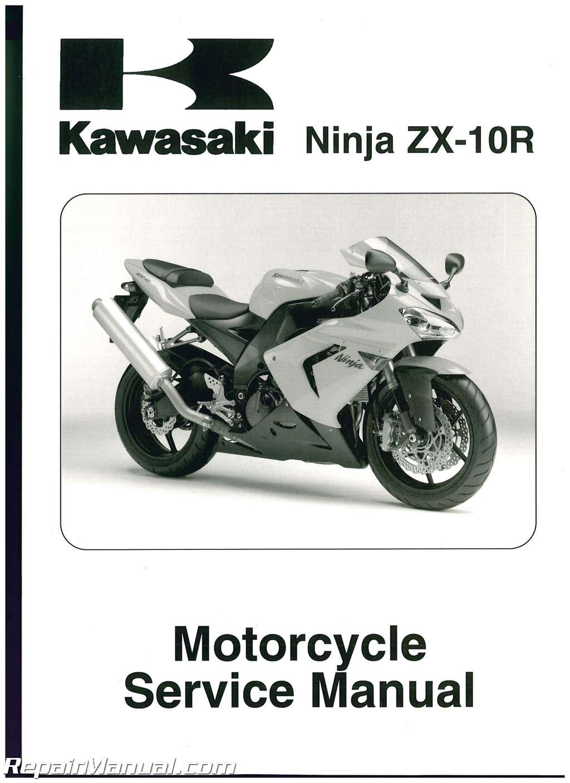 2004 2005 kawasaki zx1000c ninja zx 10r service manual rh repairmanual com 2005  ZX10 2005 Kawasaki Ninja ZX6R