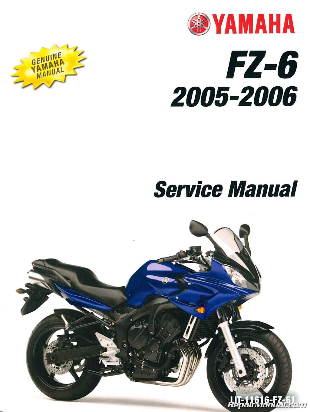 2004 2006 yamaha fz6 service manual rh repairmanual com 2005 yamaha fz6 owners manual 2005 fz6 service manual