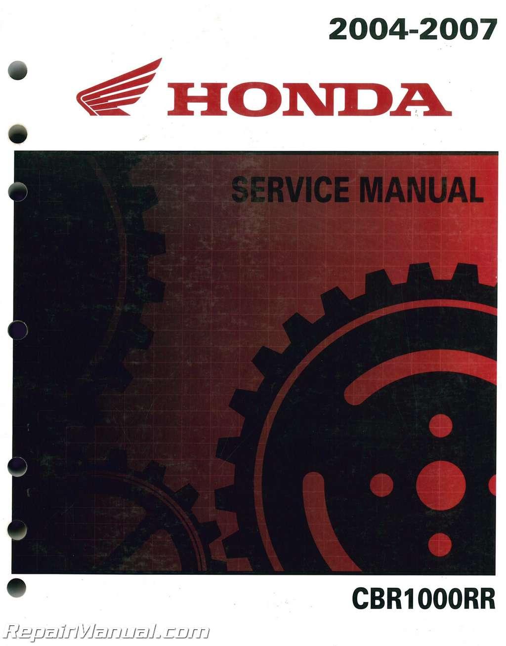 2006 honda cbr1000rr factory repair shop service manual on cd | ebay.