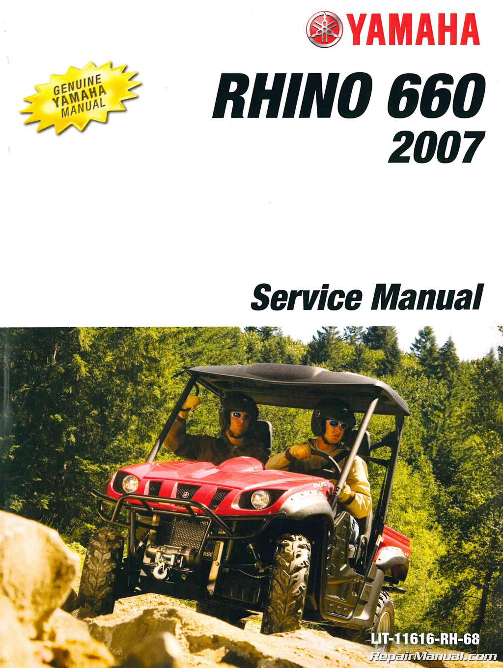 2004 2007 Yamaha Yxr660f Rhino Side X Service Manual Fuel Filter Location