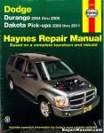 2004-2009 Dodge Durango 2005-2011 Dakota Truck Repair Manual