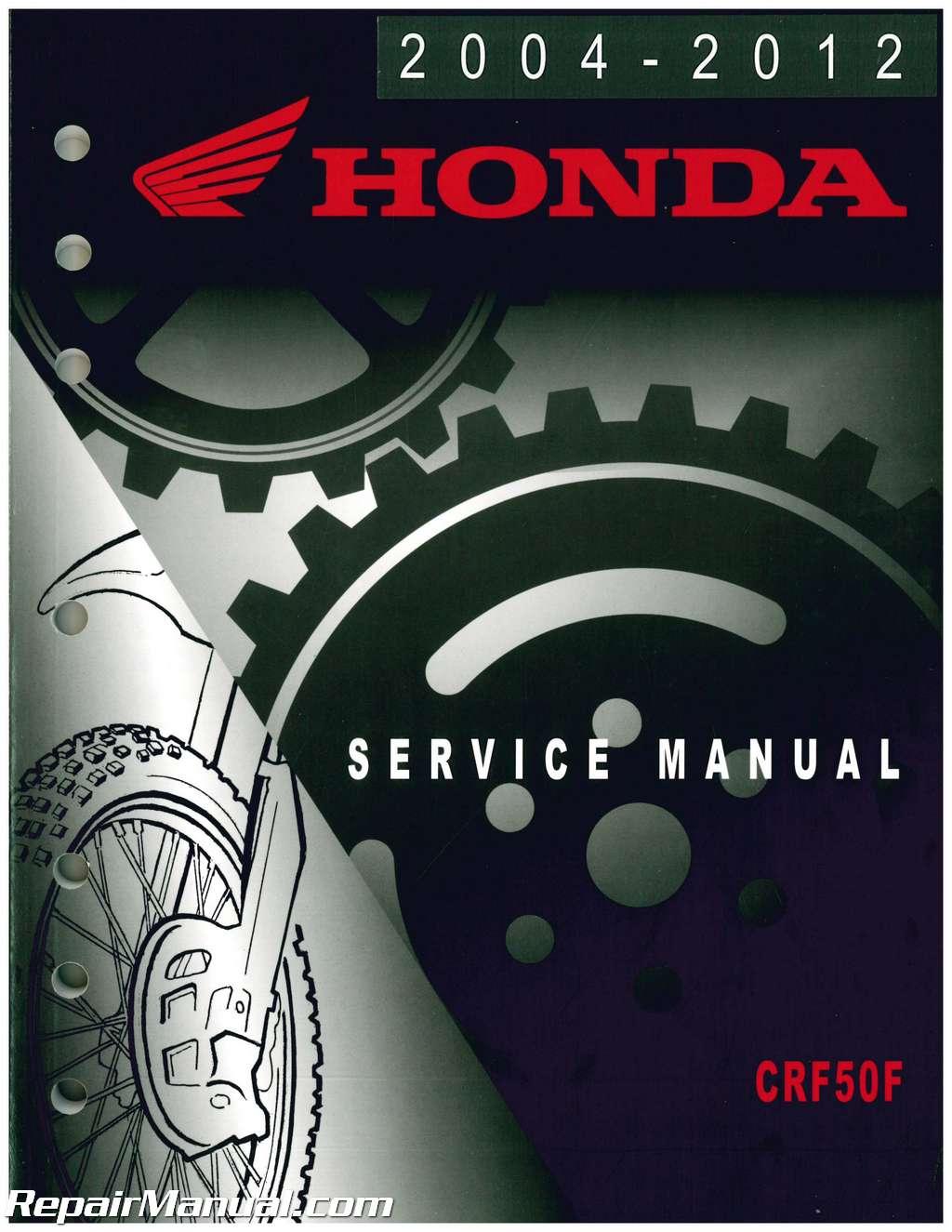 2004 crf50 service manual pdf