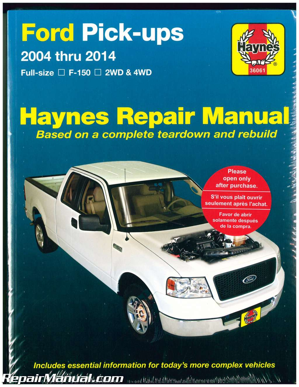 Ford F Series F 150 F150 2004 2014 Manual Guide
